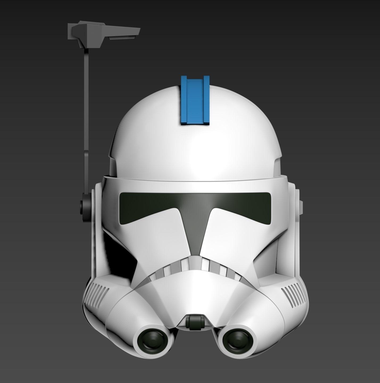 Star Wars Clone ARC Trooper Phase II Fives Helmet Cosplay