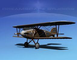 albatross diii v02 3d model rigged max obj 3ds lwo lw lws dxf stl