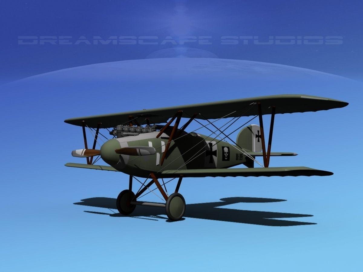 Albatross D III Fighter V04