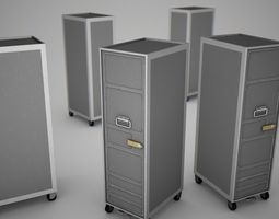 Aircraft Trolley 3D Model