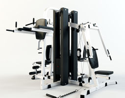 Multi Gym Machine 3D