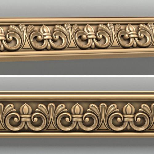molding 001 3d model max obj fbx stl 1