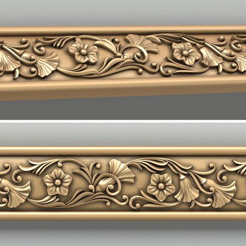 molding 003 3d model max obj mtl fbx stl 1