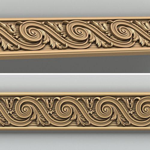 molding 006 3d model max obj fbx stl 1