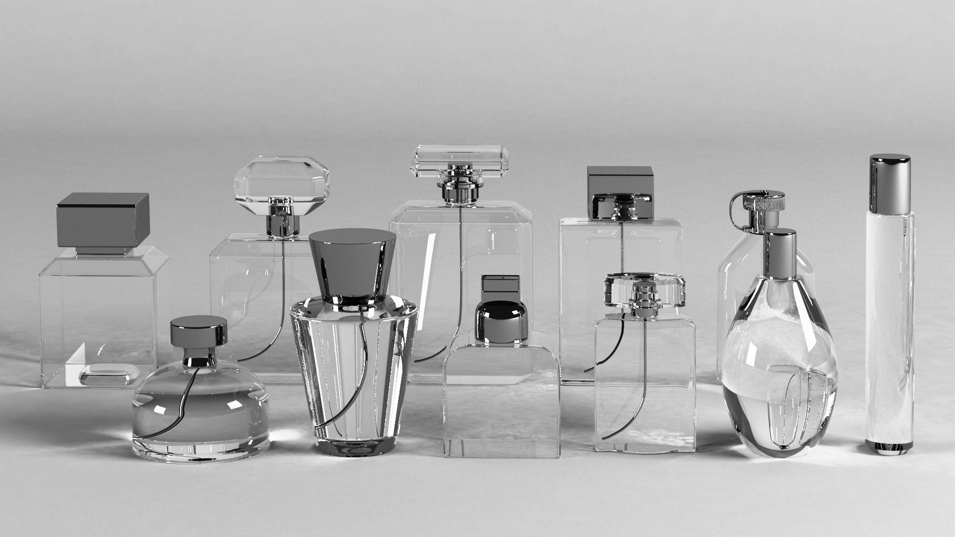Perfume Bottles Set of 11