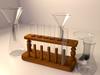 Test Tube Rack Set 3D Model