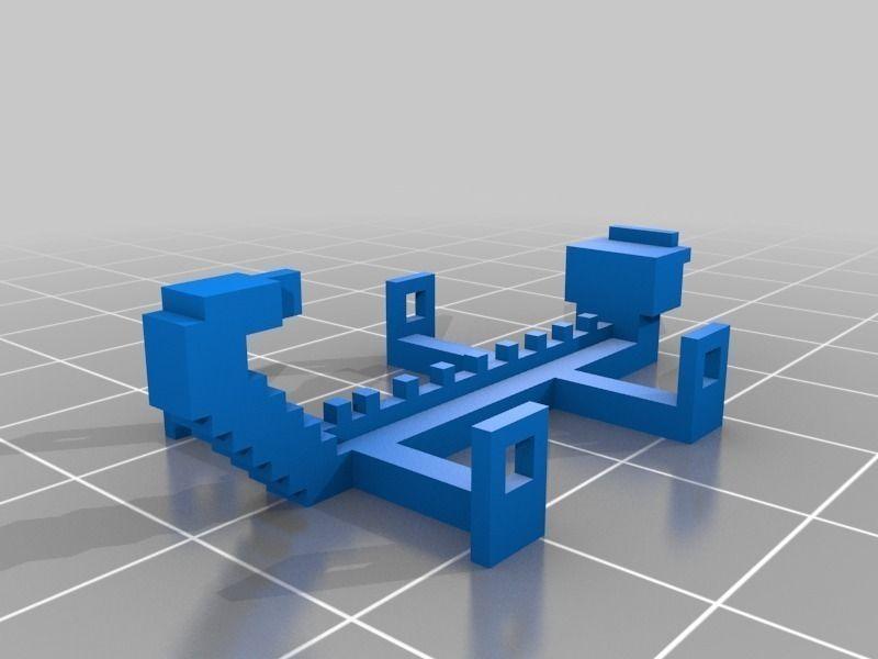 Minetest2openscad Free 3d Model 3d Printable Stl