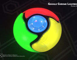 3d printable model do-it-yourself google chrome lightbox