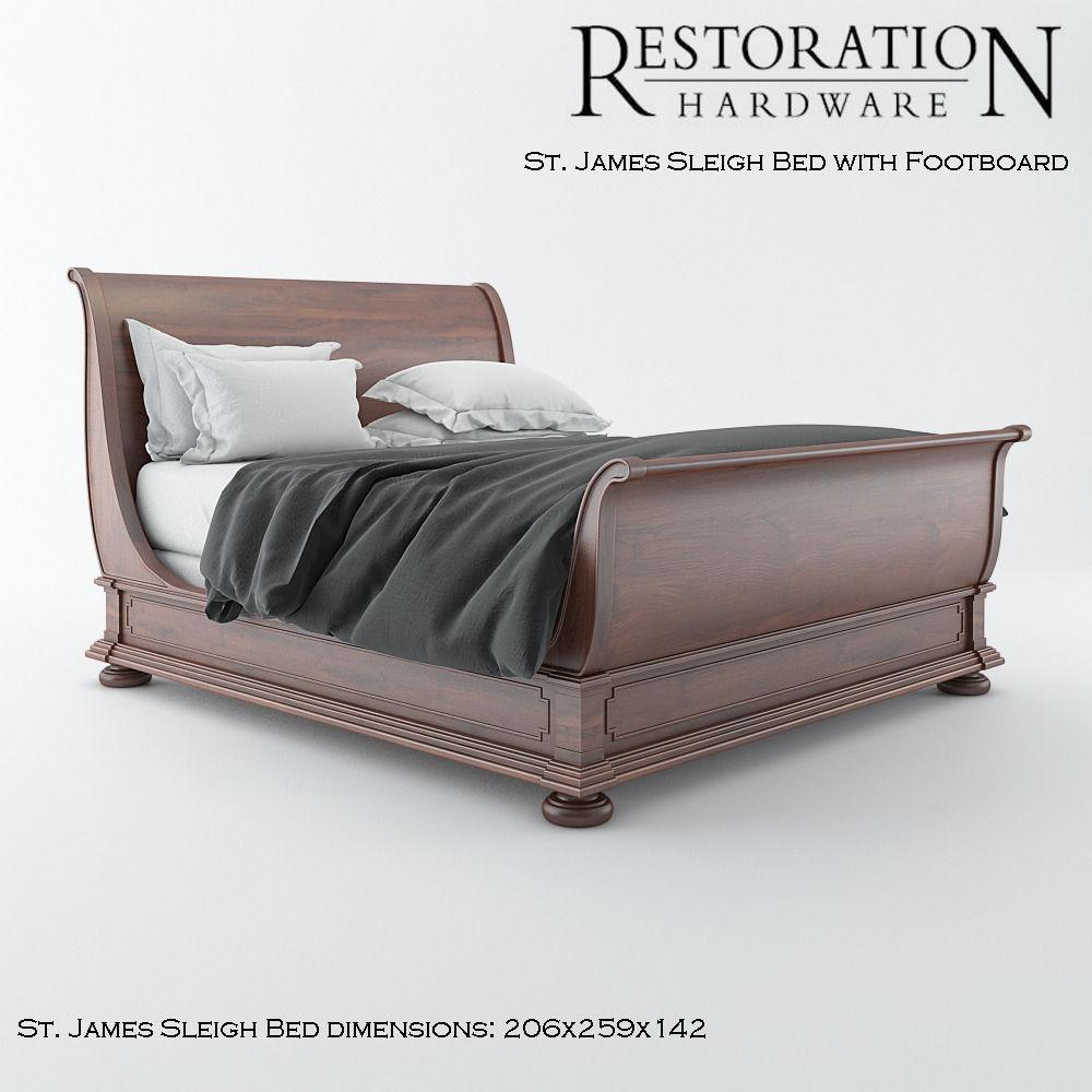 restoration hardware beds