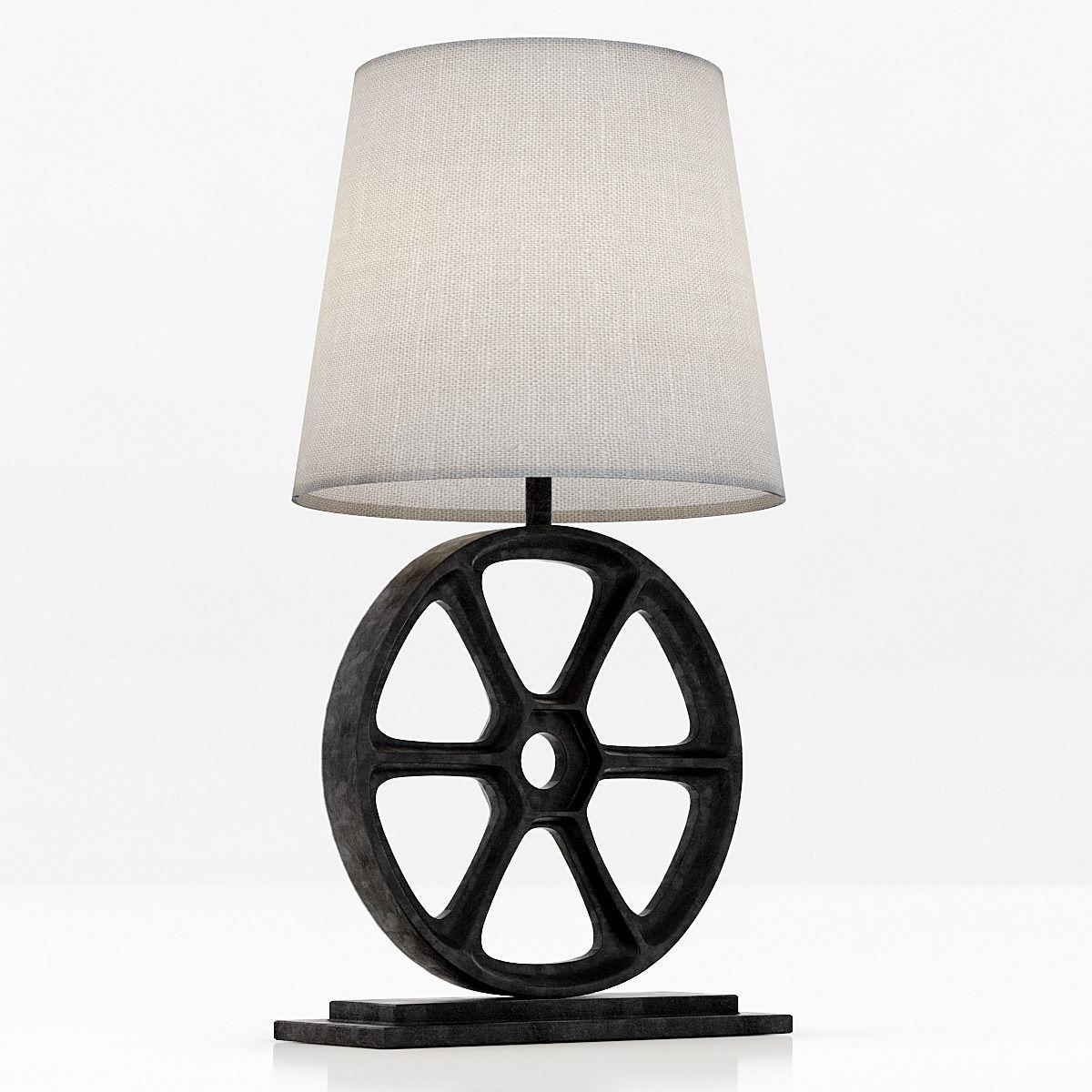 Restoration Hardware Lighting Table Lamps Emil Metal