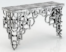 Cyan Designs Volos Console Table 3D model