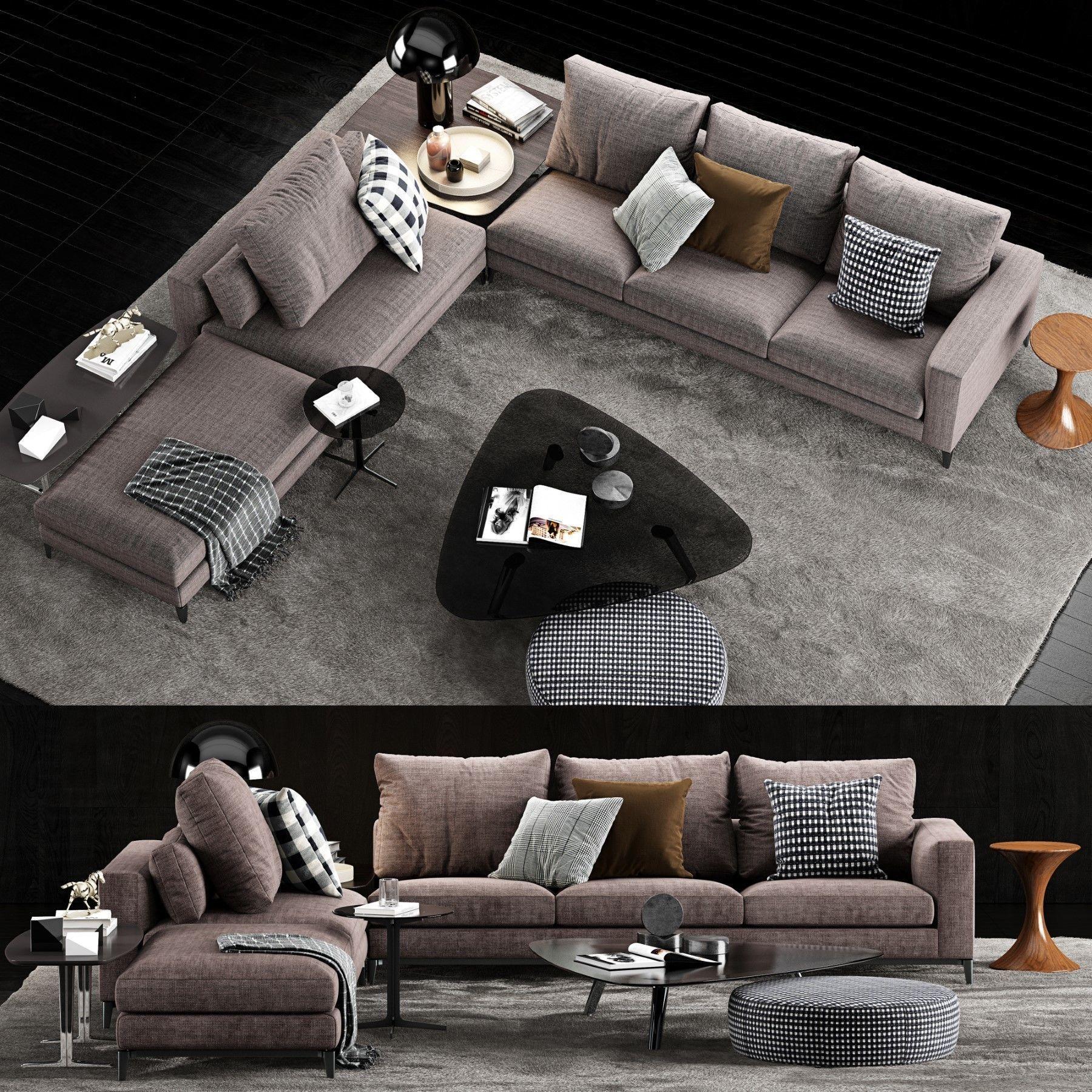 Minotti Andersen Sofa 4