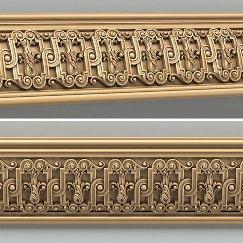molding 011 3d model max obj mtl fbx stl 1