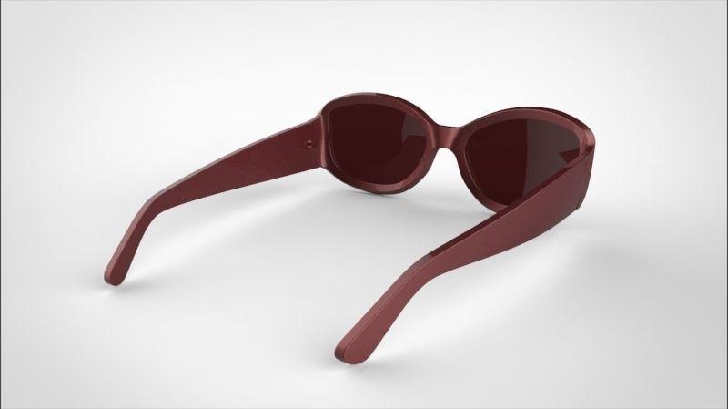 guess sunglasses 3D Model Game ready .max .obj .fbx .mtl ...