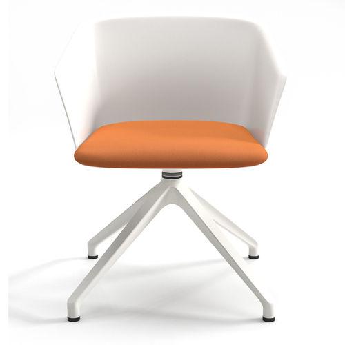 swivel armchair liza and elica table 3d model max obj fbx 3