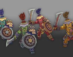 Orc Soldier 3D asset