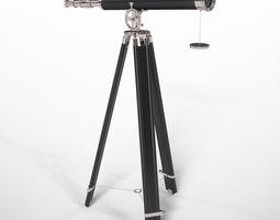 3D model Griffith Astro Telescope