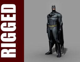Batman Rig 3D Model