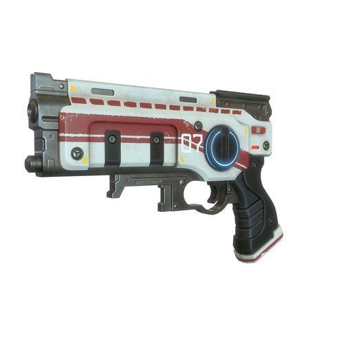 sci fi gun 03 3d model low-poly max obj mtl tga 1