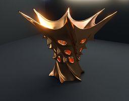 Vase of king of Mars 3D