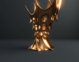 vase of king of mars 10 3d model