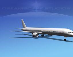 Boeing 757-300 LP SS 3D model