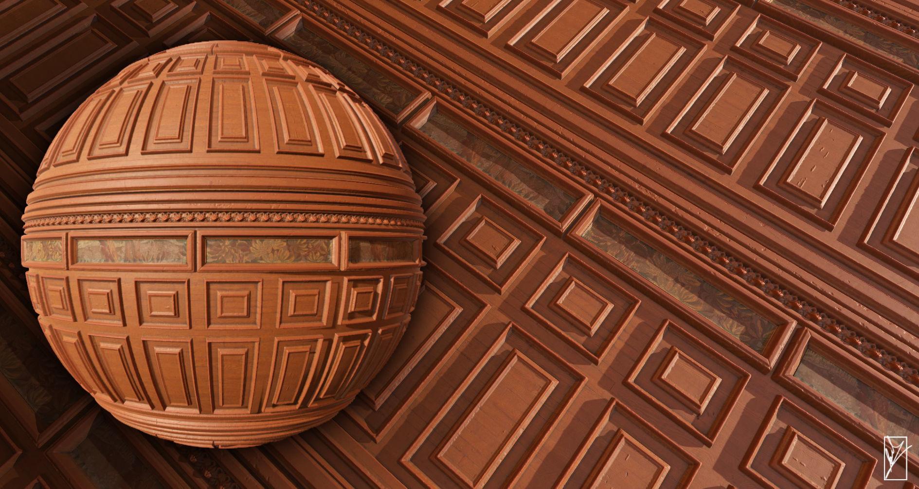 Wooden wall - PBR textures