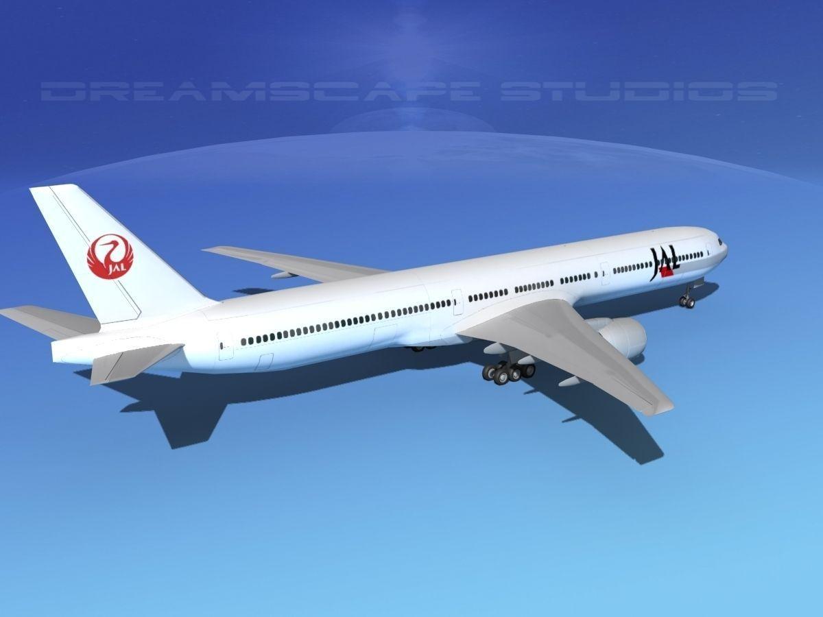 Boeing 777-300 Japan AirLines