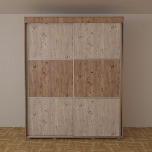 Wardrobe with sliding doors 3d cgtrader for 3d wardrobe planner
