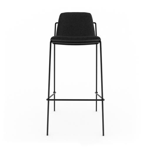 3D model INDUSTRY WEST Sling Bar Stool Upholstered VR AR