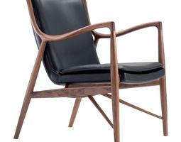 scandinavian armchair 3d