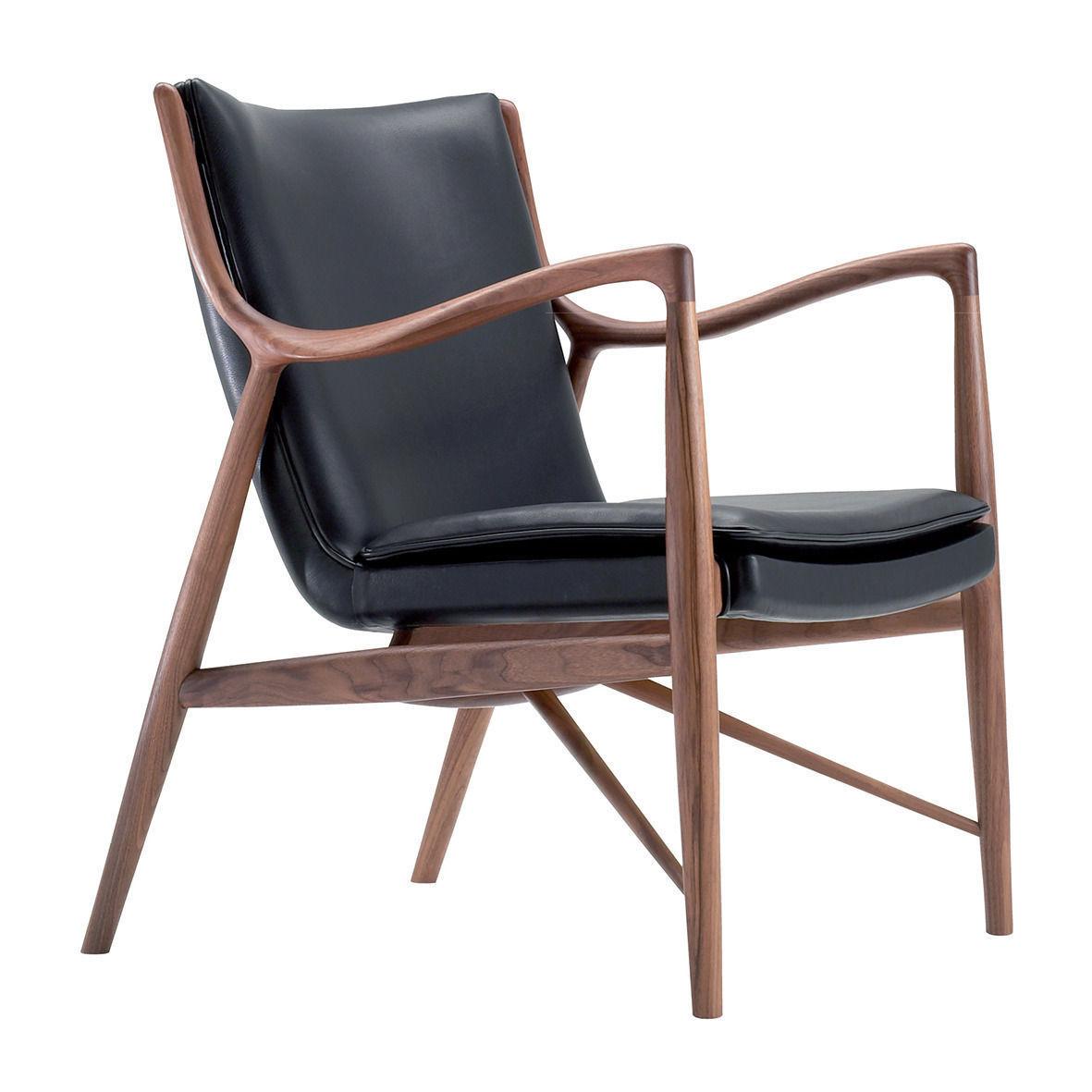 Good Scandinavian Armchair 3d Model 3ds C4d 1 ...