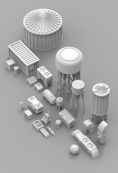 Infrastructure and Objectives Pack 01