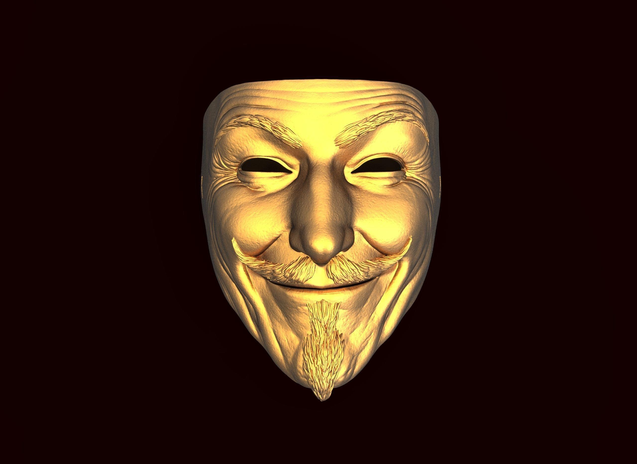 Soul Mask stl file for 3d printing   CGTrader
