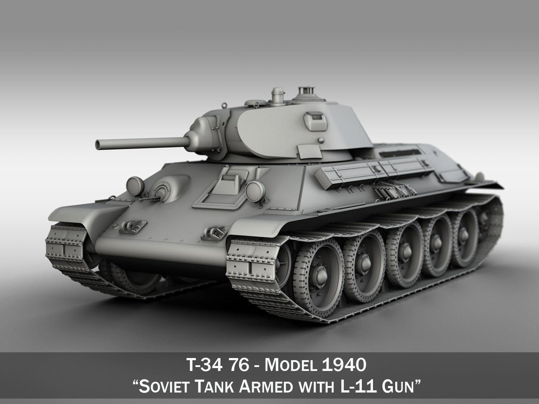 T-34-76 - Model 1940 - Soviet Medium Tank