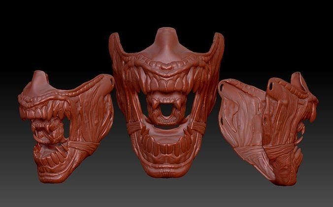 ALIEN inspired face mask
