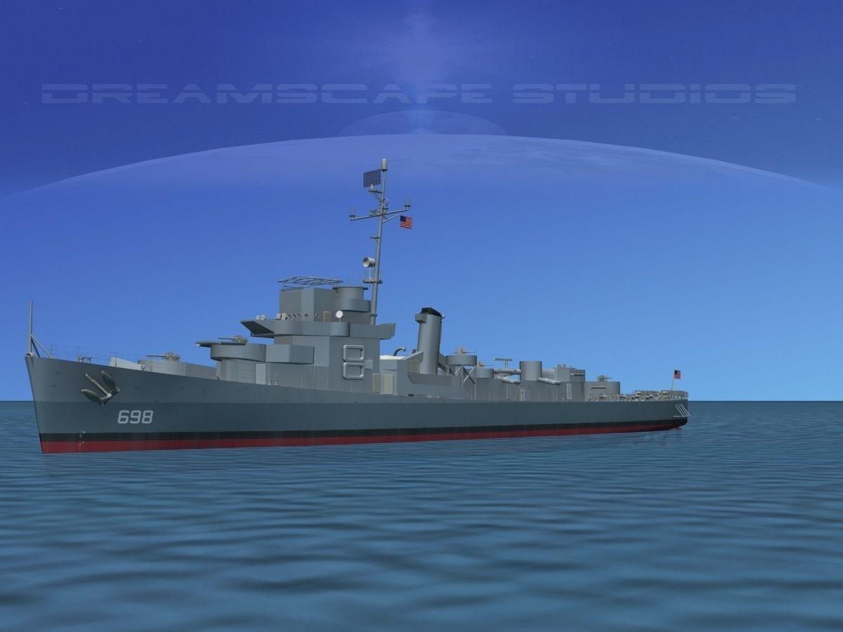 Destroyer Escort DE-698 USS Raby