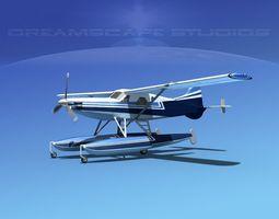 3D DeHavilland DHC-2 Turbo Beaver V14