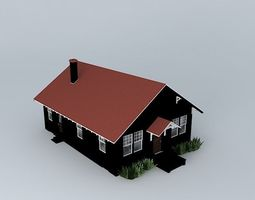 old house 3d house free - Free 3d House