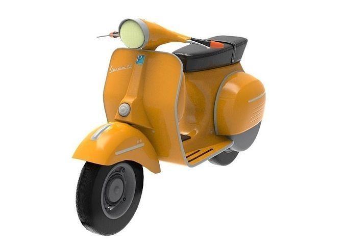 Classic Italian Piaggio Vespa Scooter