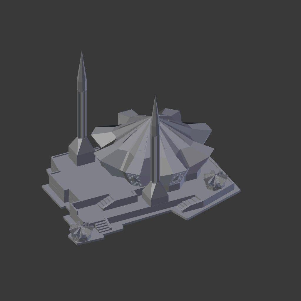 Akcakoca Merkez Cami 3D Model