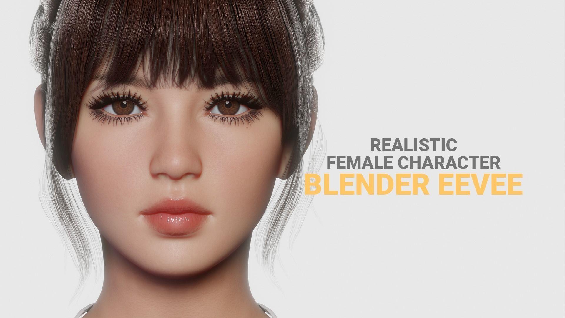 JOY - Realistic Female Character