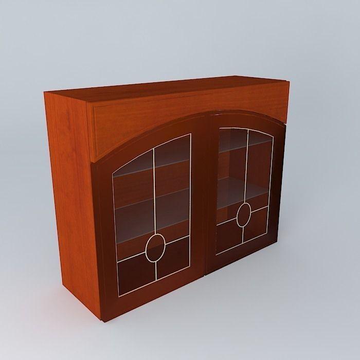 3d Kitchen Cabinets: Royal Artycja Kitchen Cabinet GB 5 90 72 LV PV B 3D Model