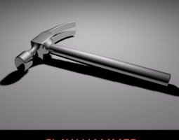 3D model Claw Hammer