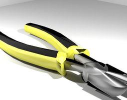 Mechanical Handtools - Cutter Plier 3D Model
