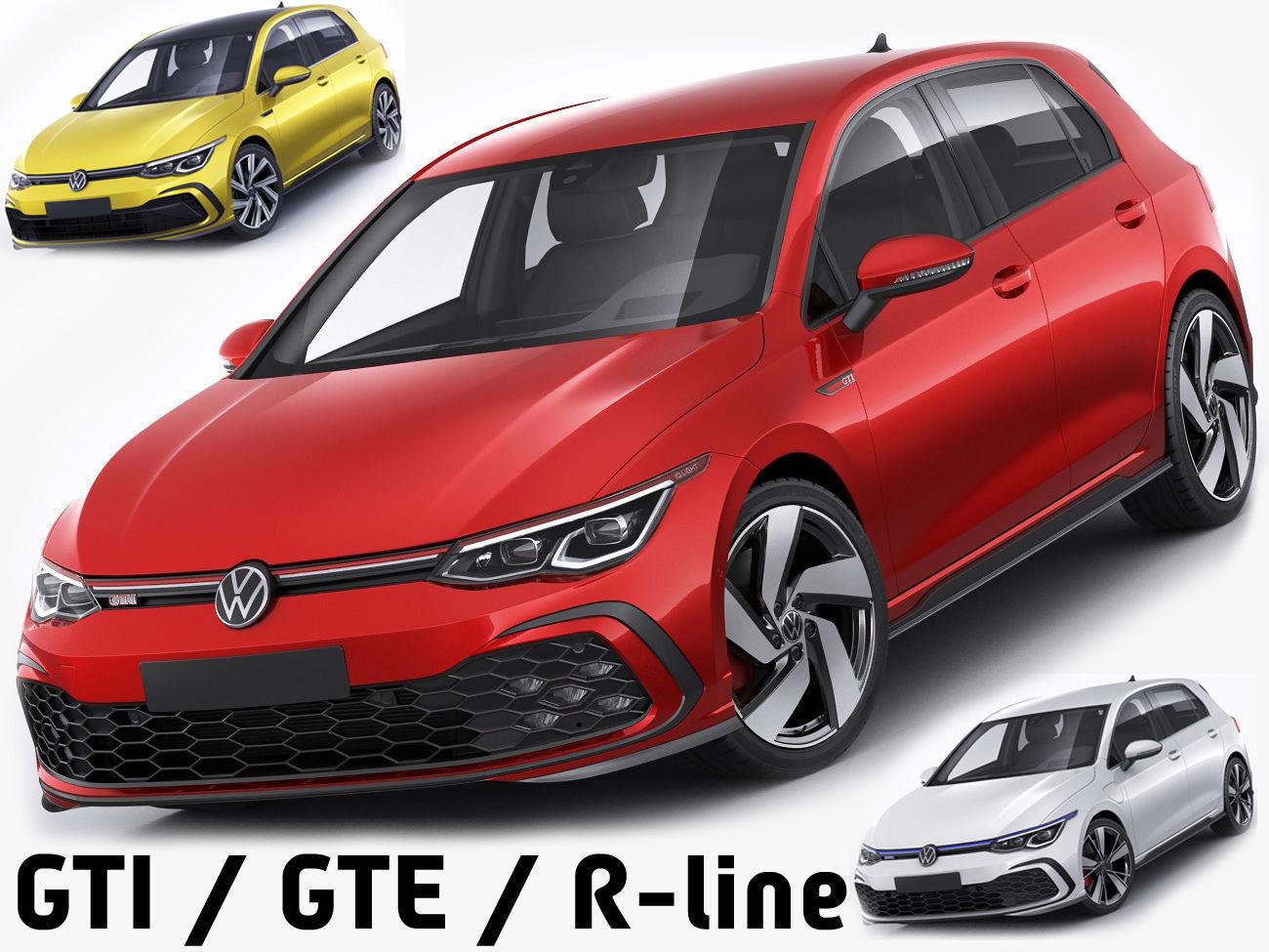 Volkswagen Golf 2020 GTI  GTE  R-line