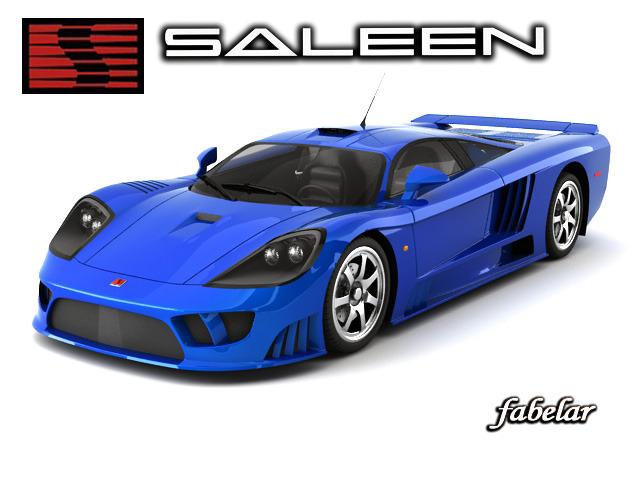 Saleen S73D model