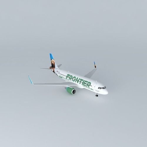 Frontier Airlines Airbus A320 214 New Livery 2014 Sharklets  ...
