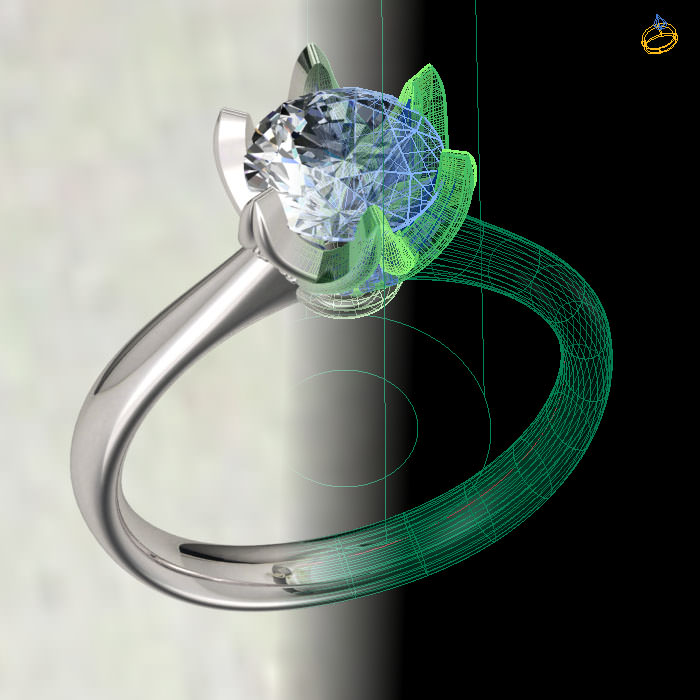 3d jewelry cad models jewelry master ring model design for sale view