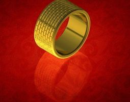 3D printable model Brick Wall Ring